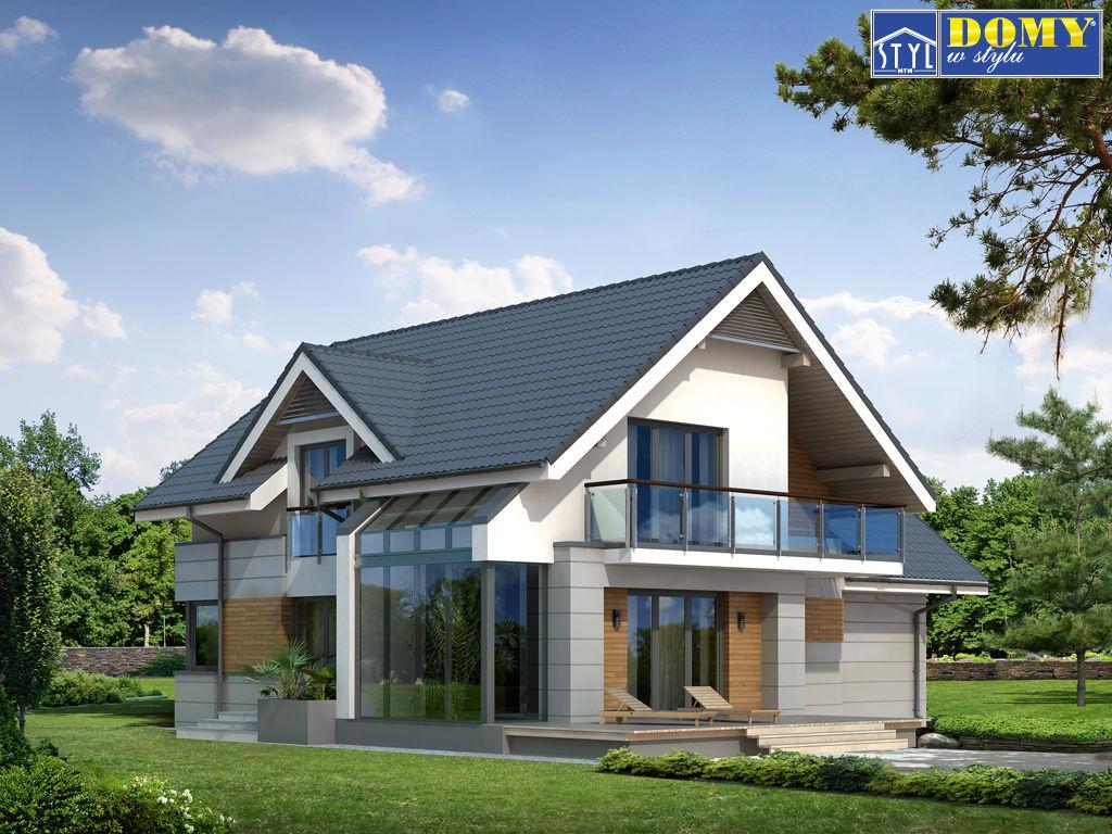 Дизайн дома с мансардой внутри и снаружи