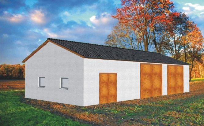 Garaż Na Maszyny Rolnicze Rg 007 Projekty Garaży Wiat
