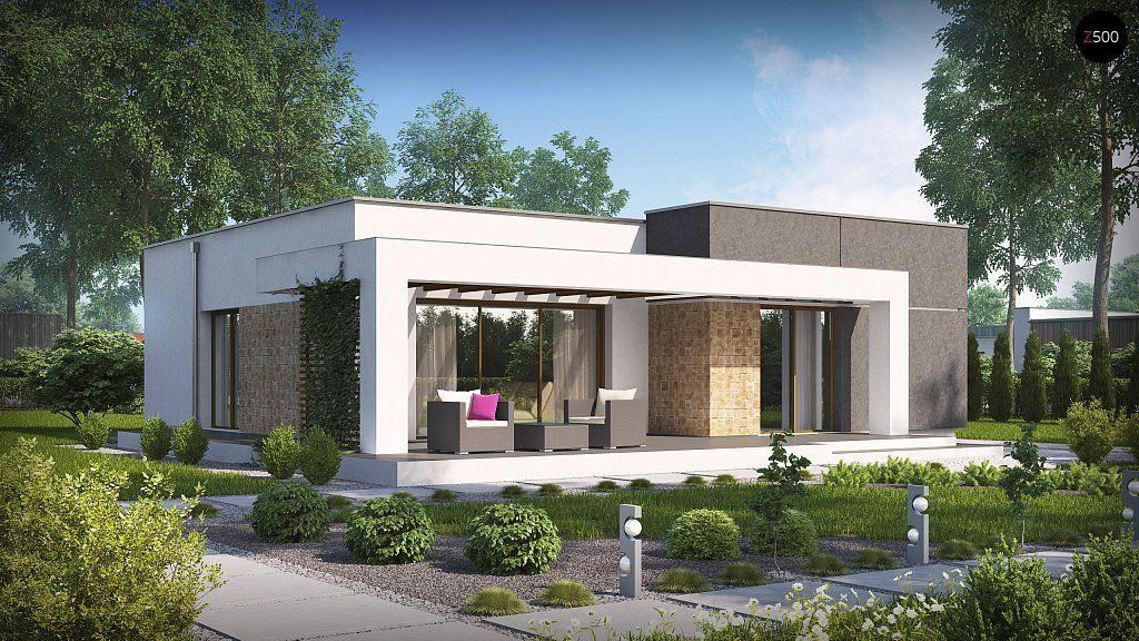 casa moderna minimalista interior 6m x 12 50 m zx105 projekty dom w mieszkalnych mojedomki projekty
