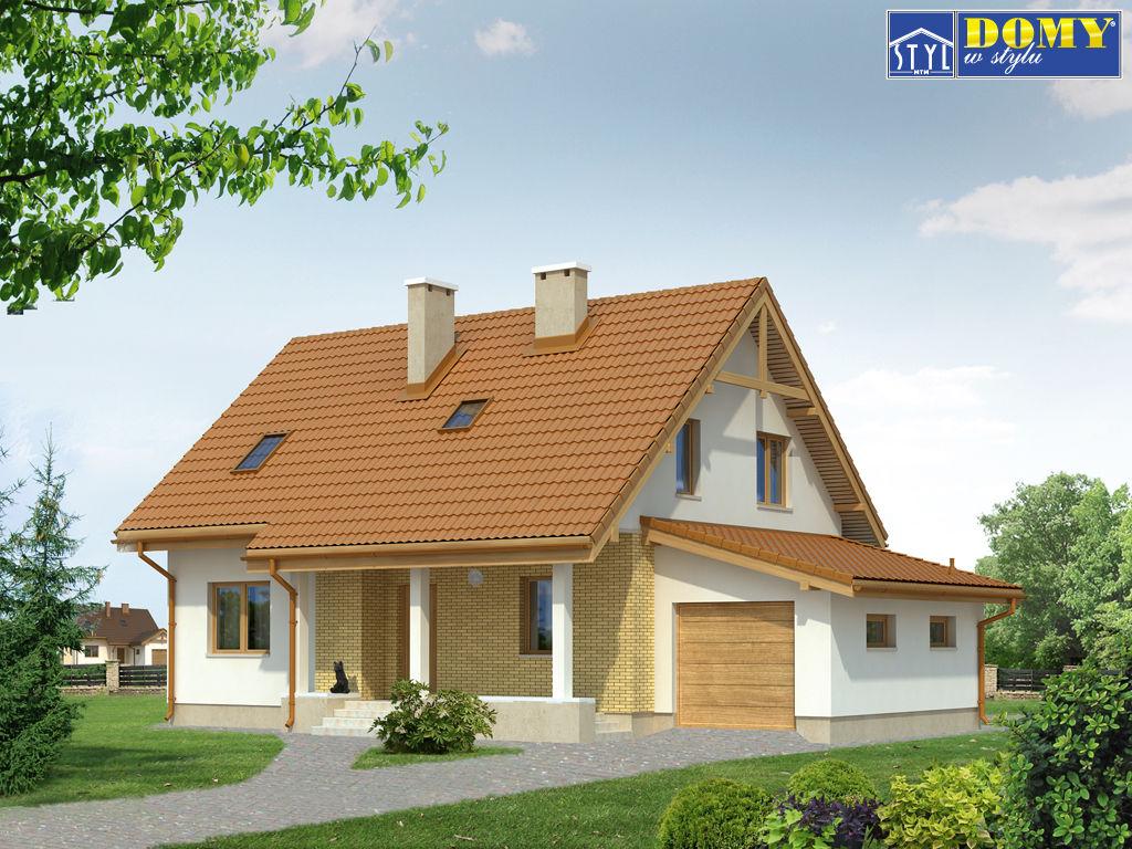 проекты домов из пенобетона с гаражом и мансардой