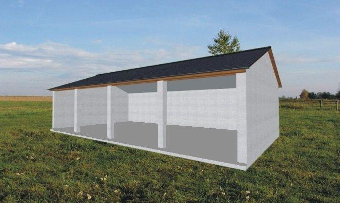 Wiata Na Maszyny Rolnicze Rg 001 Projekty Garaży Wiat